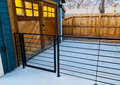 Exterior Rail with Gate